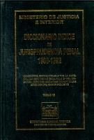 Diccionario   ndice de jurisprudencia penal 1989 1992  Tomo VI PDF