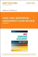 Admission Assessment Exam Review Pageburst E book on Vitalsource Retail Access Card