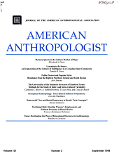 american anthropologist PDF