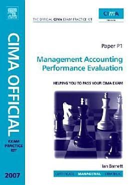CIMA Exam Practice Kit Management Accounting Performance Evaluation PDF