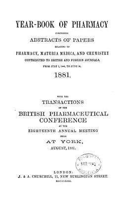Year book of Pharmacy PDF