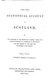 The New Staistical Account of Scotland: pt.1-2 Dunbarton, Stirling, Clackmannan