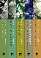 The Complete Virga Series: Sun of Suns, Queen of Candesce, Pirate Sun, Sunless Countries, Ashes of Candesce