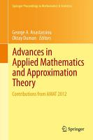 Advances in Applied Mathematics and Approximation Theory PDF