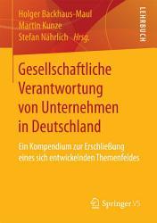 Gesellschaftliche Verantwortung von Unternehmen in Deutschland PDF