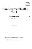 Bundesgesetzblatt I II  PDF