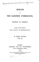 Memoirs of the Baroness D Oberkirch  Countess de Montbrison PDF