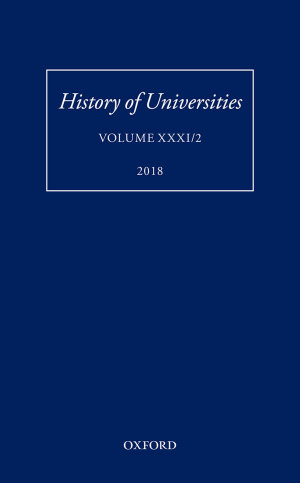 History of Universities 2018