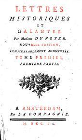 Lettres historiques et galantes: Volume1