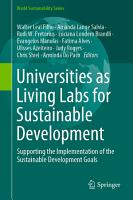 Universities as Living Labs for Sustainable Development PDF