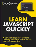 Learn JavaScript Quickly PDF