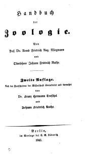 Handbuch der Zoologie. Von A.F.A. Wiegmann und J.F. Ruthe