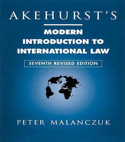 Akehurst s Modern Introduction to International Law PDF