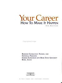 Your Career PDF