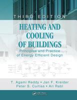 Heating and Cooling of Buildings PDF