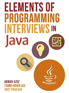 Elements of Programming Interviews in Java Book
