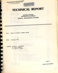 Report on Magnetic Channel Coding PDF