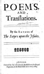 Poems, and Translations. By the author of The Satyrs upon the Jesuits [i.e. J. Oldham].