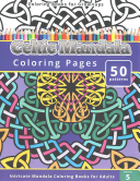Coloring Books for Grownup  Celtic Mandala Coloring Pages PDF