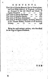 The British Plutarch: Containing the Lives of the Most Eminent Statesmen, Patriots, Divines, Warriors, Philosophers, Poets, and Artists, of Great Britain and Ireland, from the Accession of Henry VIII. to the Present Time. Including a Complete History of England from that Area, Volume 2