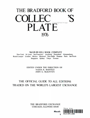 The Bradford Book of Collector s Plates