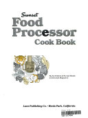 Food Processor Cook Book PDF