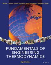 Fundamentals of Engineering Thermodynamics, 8th Edition: Edition 8