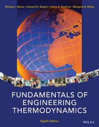 Fundamentals Of Engineering Thermodynamics 8th Edition Book PDF