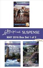 Harlequin Love Inspired Suspense May 2016 - Box Set 1 of 2
