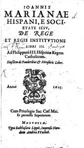 De Rege Et Regis Institutione