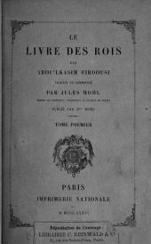 Le livre des rois: Volume1