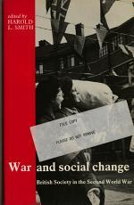 War and Social Change