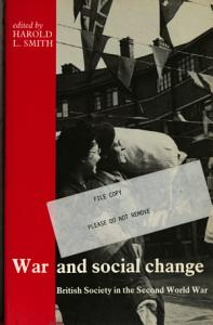 War and Social Change Book