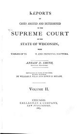 Wisconsin Reports: Cases Determined in the Supreme Court of Wisconsin, Volume 2