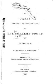 Louisiana Reports: Cases Argued and Determined in the Supreme Court of Louisiana, Volume 45