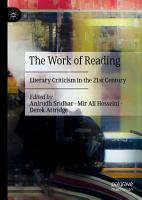 The Work of Reading PDF