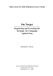 On target : organizing and executing the strategic air campaign against Iraq