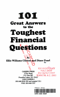 101 Great Answers to the the Toughest Financial Questions PDF
