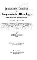 Internationales Centralblatt f  r Laryngologie  Rhinologie und verwandte Wissenschaften     PDF