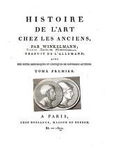 Geschichte der Kunst des Altertums. French