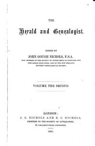 The Herald and Genealogist PDF