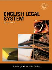 English Legal System Lawcards: Edition 7