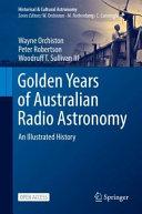 Golden Years of Australian Radio Astronomy