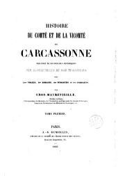 Histoire du Comté et de la Vicomté de Carcassonne