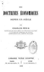 Les doctrines économiques depuis un siècle