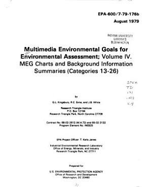 Multimedia Environmental Goals for Environmental Assessment PDF