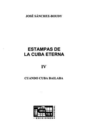 Estampas de la Cuba eterna