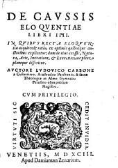 De causis Eloquentiae: lib. IV.
