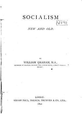 Socialism  New and Old