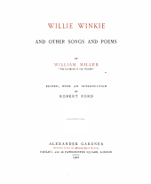 Willie Winkie and Other Songs and Poems